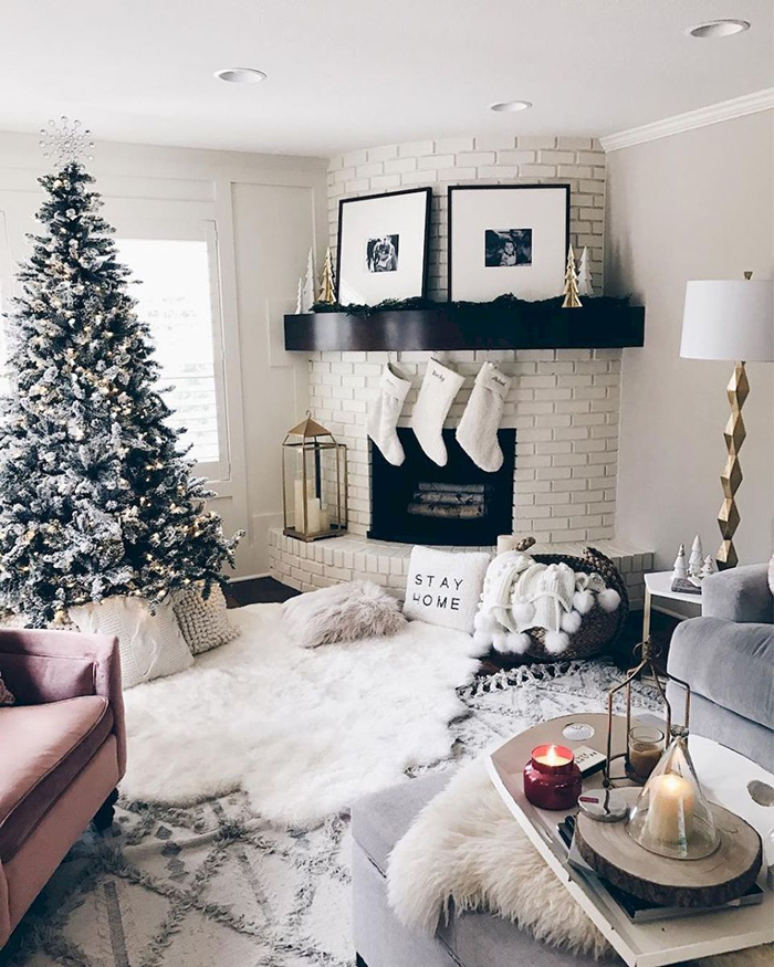 Natural-Rustic-Colors-Home-Christmas-Decor