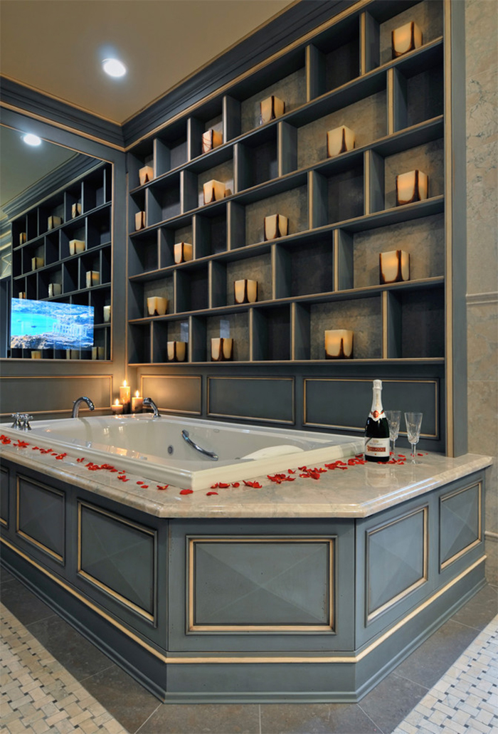 Romantic-Bath-Tab-for-Valentine's-Day-ideas