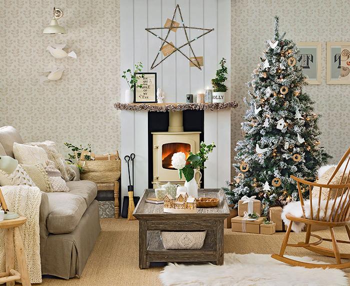 Rustic-Home-Christmas-Decoration-Ideas