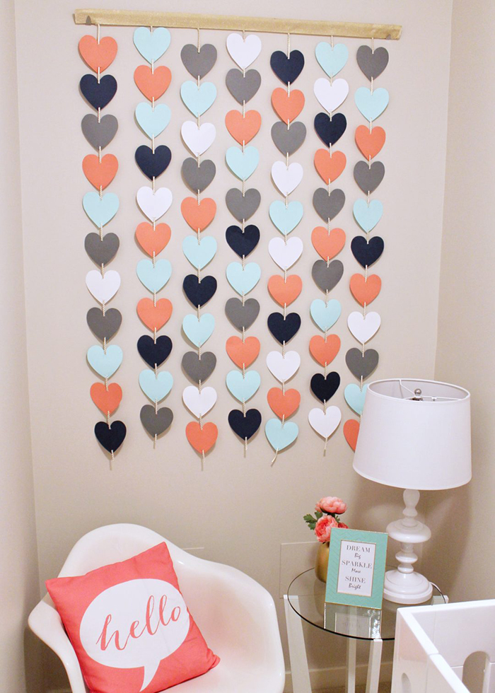 Valentines-Day-DIY-Heart-Garland-Decor-Small-Space-Ideas