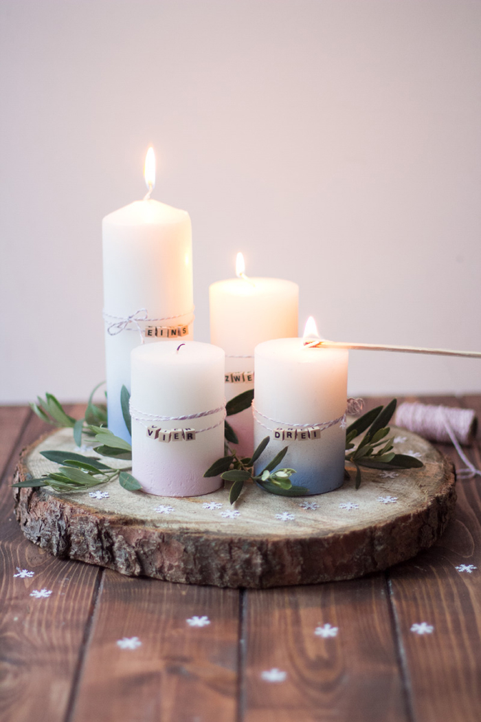 White-Christmas-Table-Decor-Candles