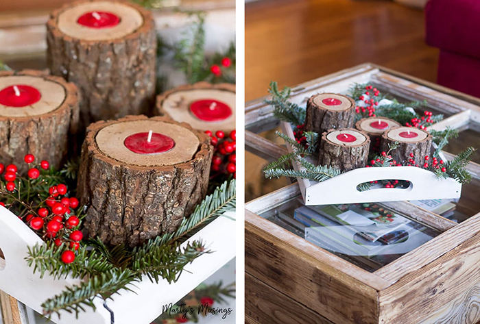 Wooden-Rustic-Christmas-Home-Decor-Insporation