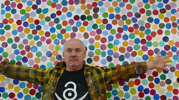 Damien-Hirst-artistic-creations