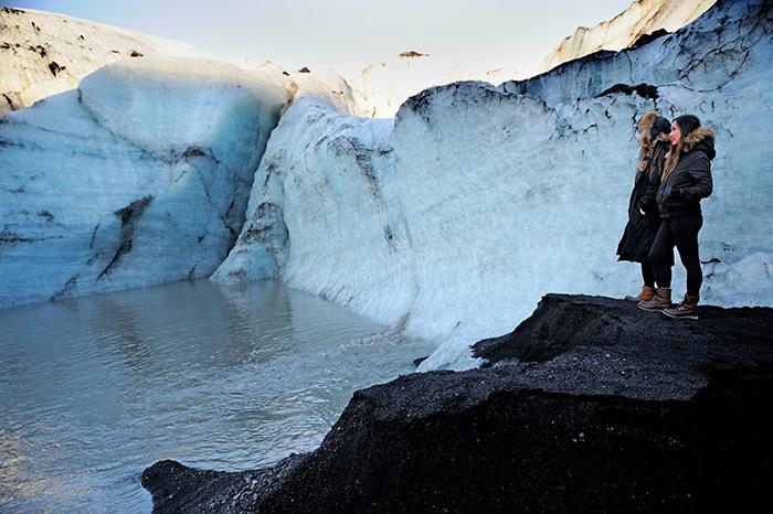 Exploring-Glaciers-on-Honeymoon-in-Iceland
