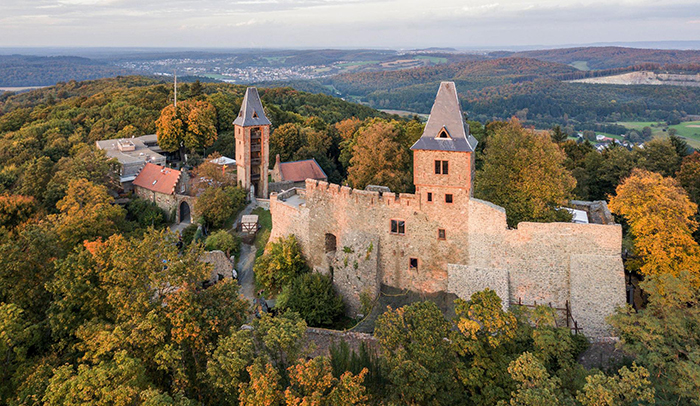 Frankenstein-Castle,-Germany