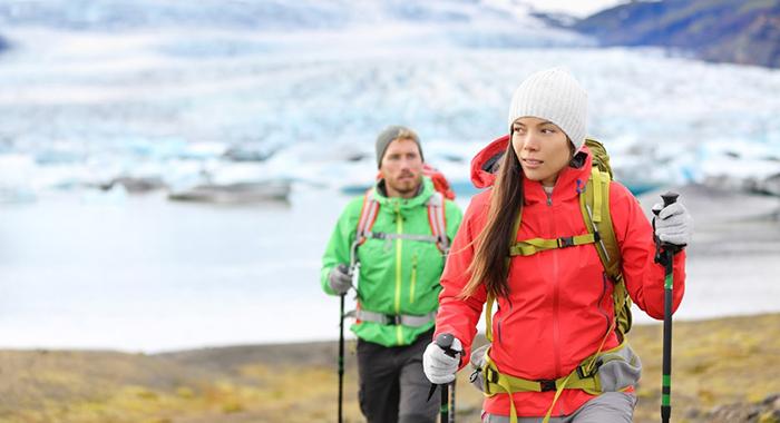 Hiking-in Iceland-on-Honeymoon
