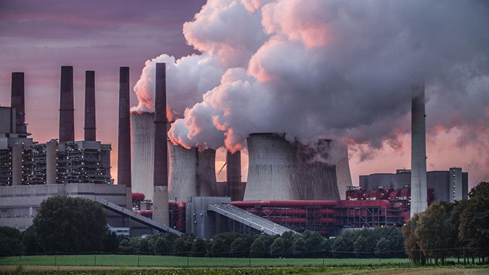Industry-carbon-emissions-causing-global-warming