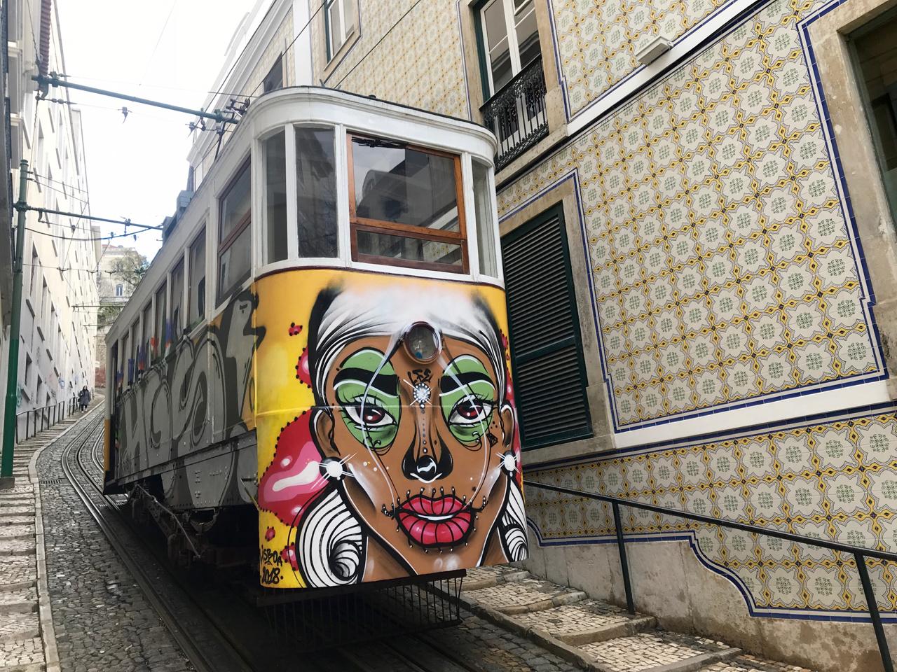 Lisabon Interesting Street Art