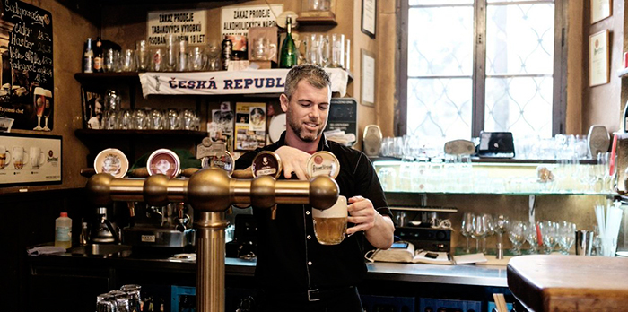 Bartender-Beer-biggest-breweries in the world Prague