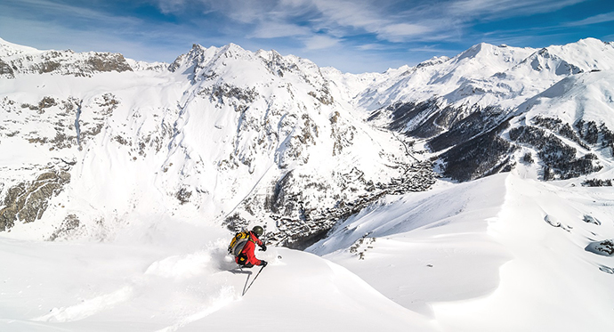 Best-Ski-Resort in French-Alps-Val-d'Isere