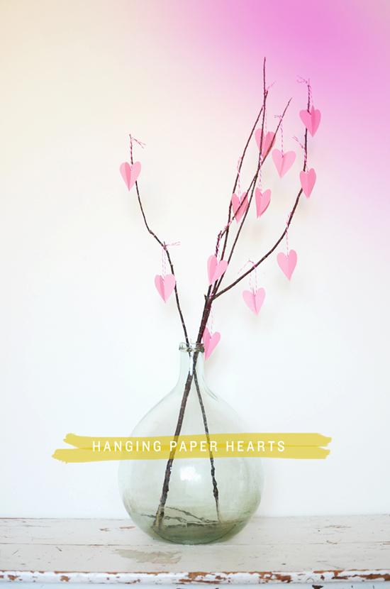 DIY-paper-hearts-st-valentine's-day-decor-ideas