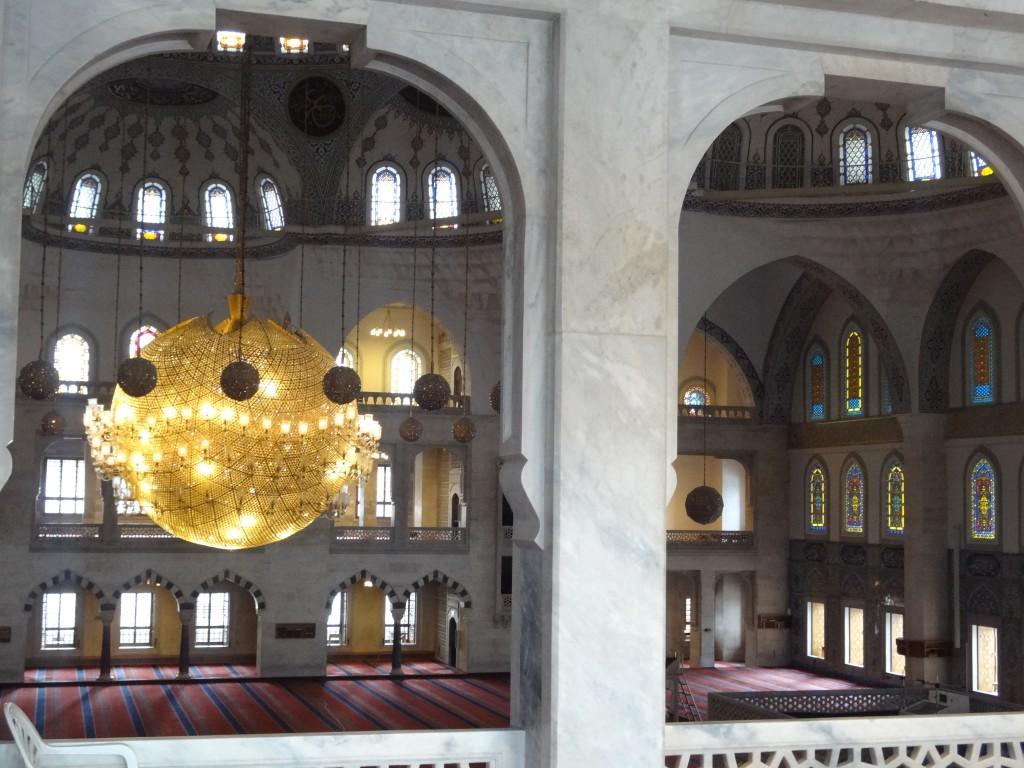 Kocatepe mosque, interior