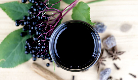 Homemade Elderberry Juice