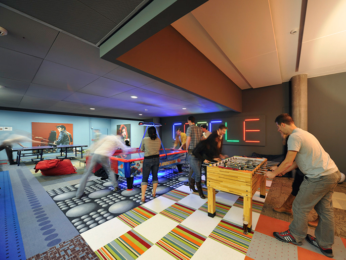 Play area in Google office