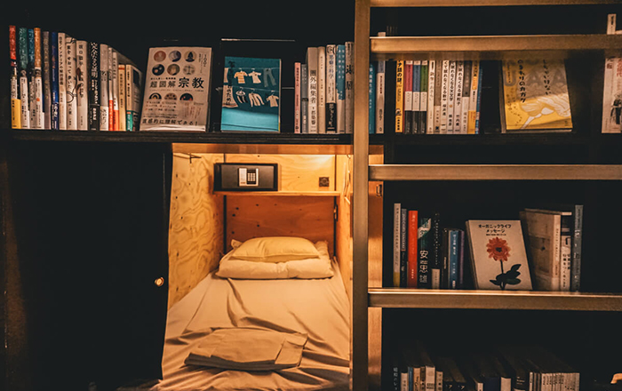 Book and Bed Bookstore in Tokyo