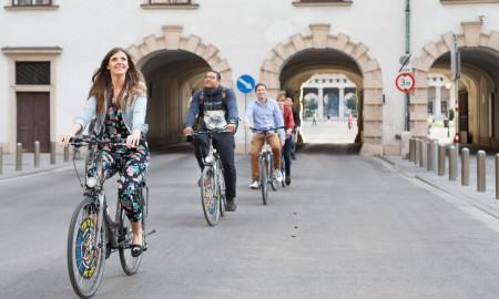 Vienna top healthy city bike tour