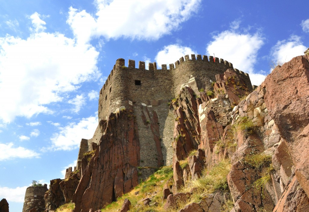 The castle in Ankara