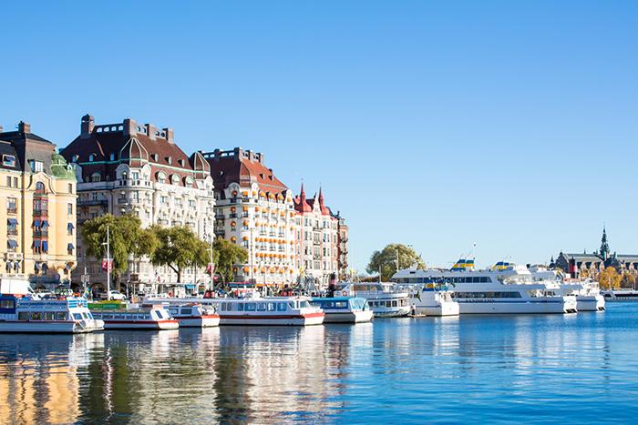 Stockholm healthier city in Europe port