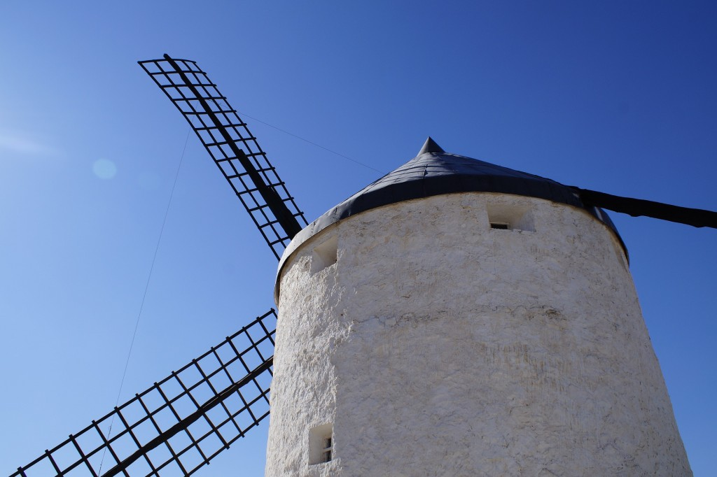 Windmills in Campo de Criptana