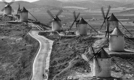 Windmills in Castilla-La Mancha