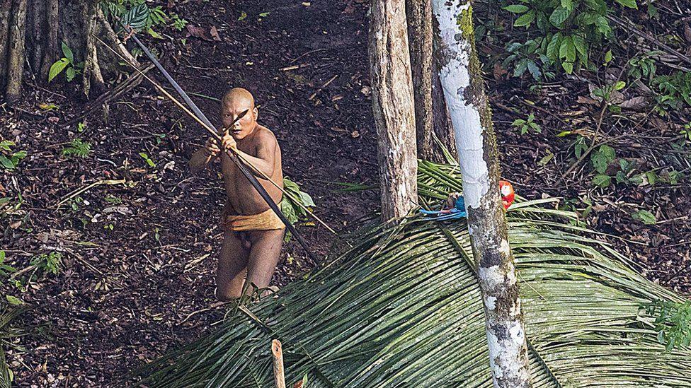Sentinel warrior shooting an arrow