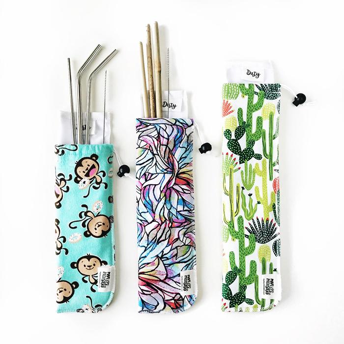 Alternatives to plastic straws