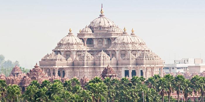 Akshardham temple in Delhi India