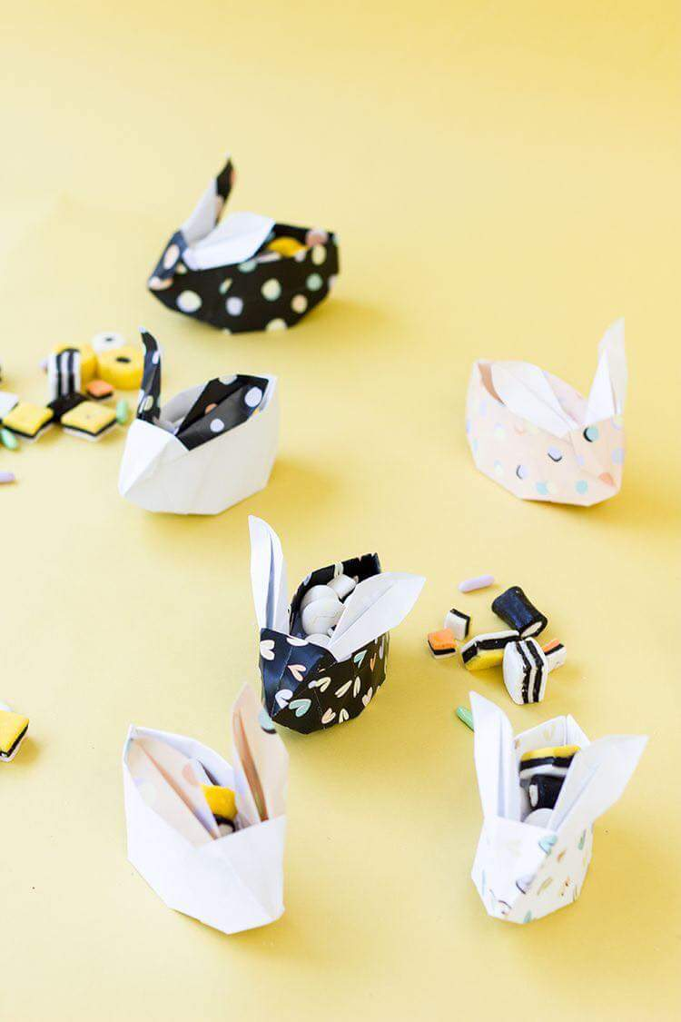 Bunny handmeade origami