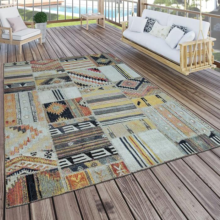Tribal textile rug