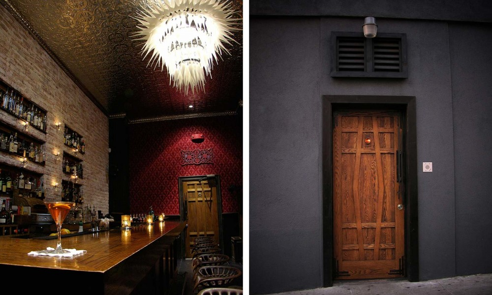 Ipswitch entrance hidden bar in San Francisco