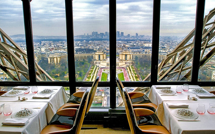 Le Jules Verne amazing view of Paris