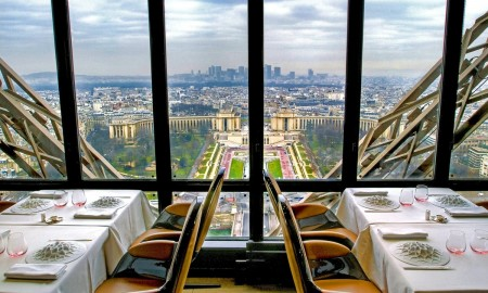 View from Le Jules Verne