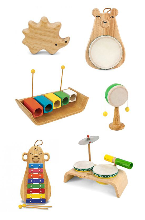 EASTER KID GIFT Wooden musical instrument
