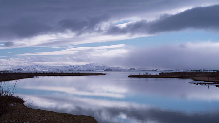 Landscape photography Pingvallavatn Lake