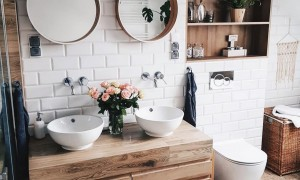 Sustainable bathroom with zero waste