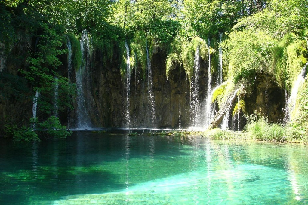 Beautiful Plitvice Lakes in Croatia