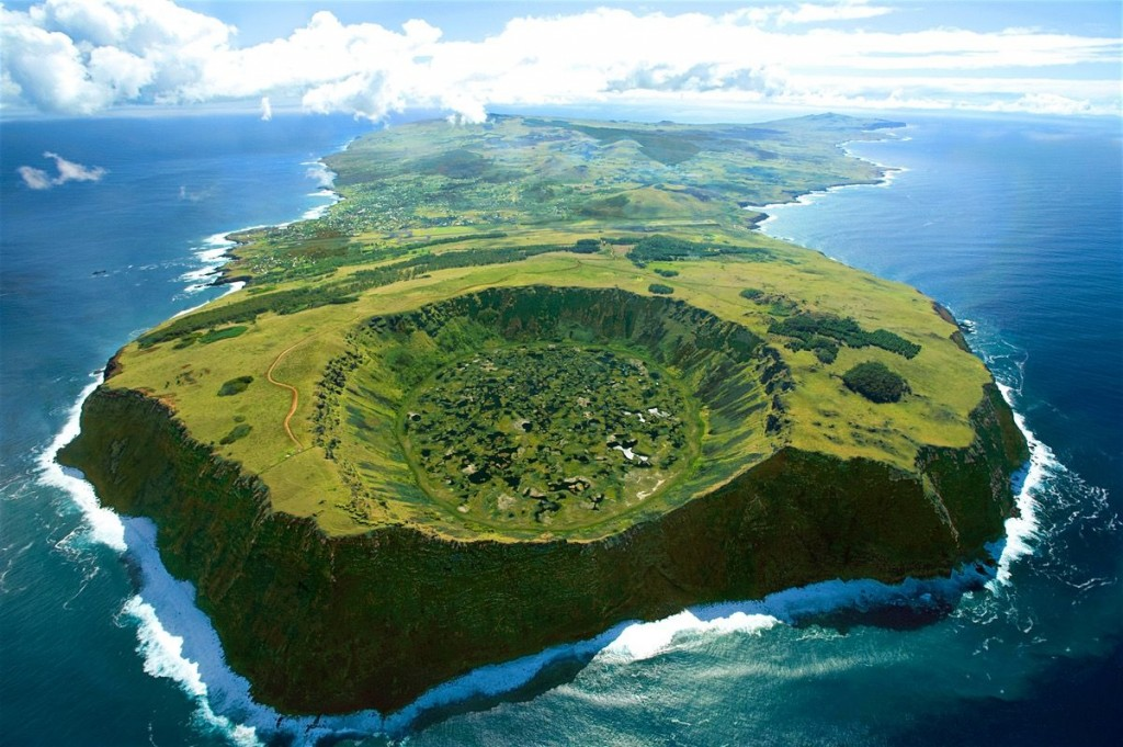 Remote island with good nature