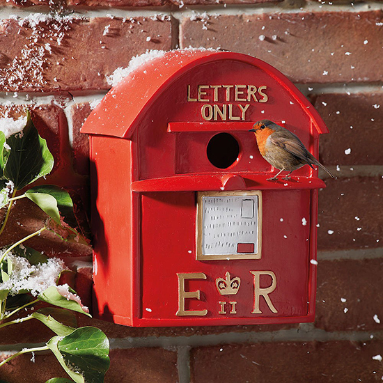 Lovely post box birdhouse