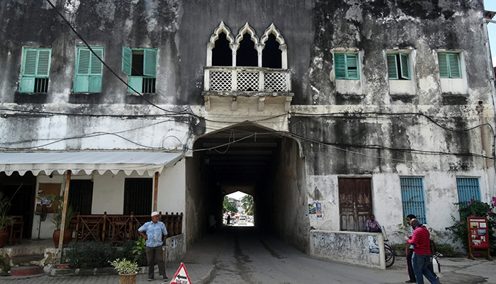 Old building in Stone Town