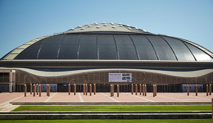 Palau Sant Jordi that serves as a sport center and concert venue