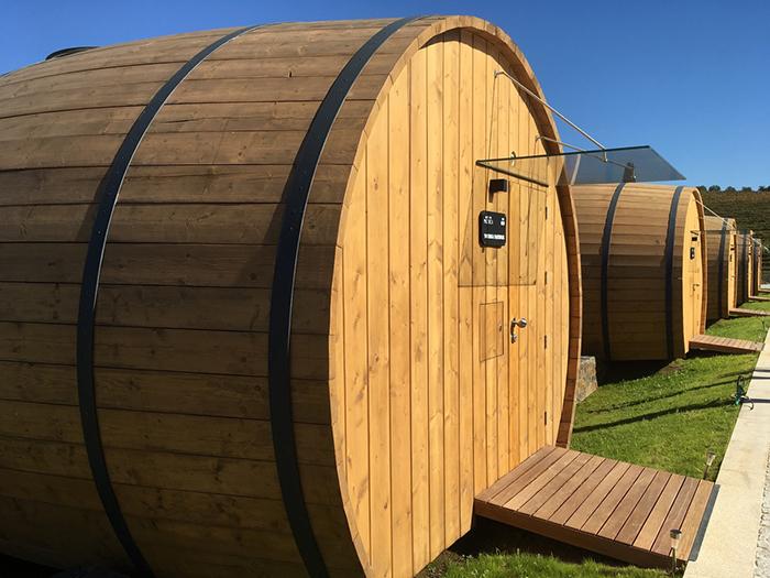 Wine barrel rooms in Quinta Da Pacheca