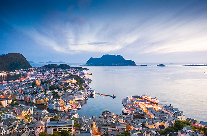 Early evening in Ålesund