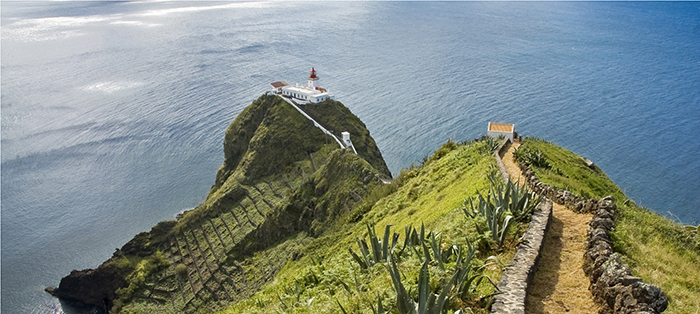 Beautiful nature in the Azores