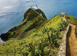 Azores islands landscape