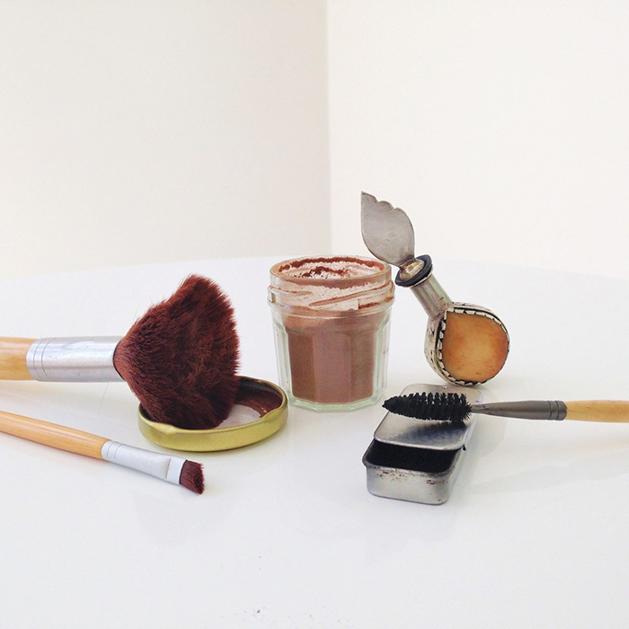 Zero waste make up and brushes
