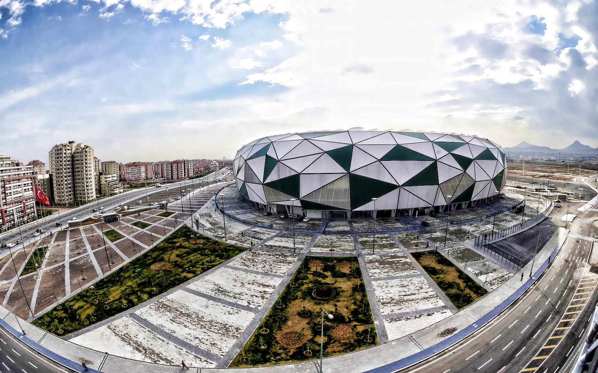 The city stadium in Konya