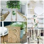 Summer Wedding Table Centerpiece Ideas