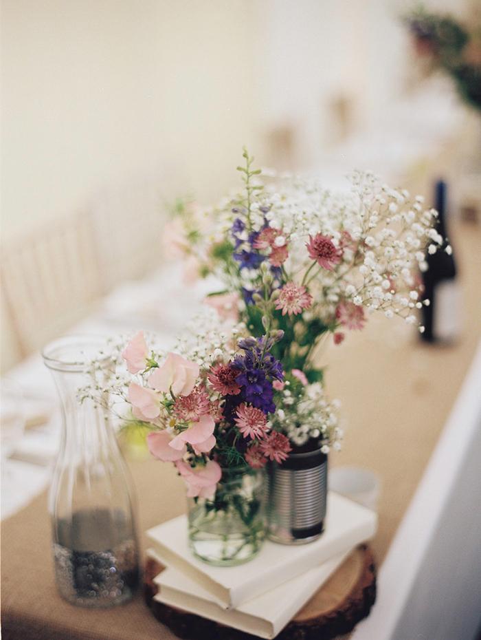Flowers as a wedding decor