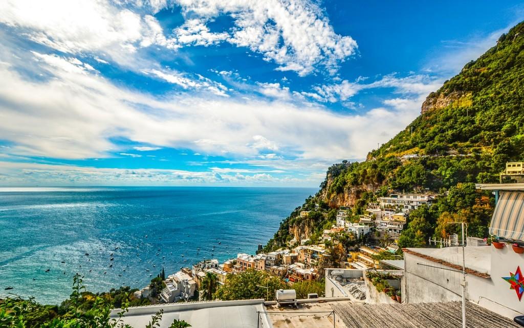 Nice view of Amalfi's coast