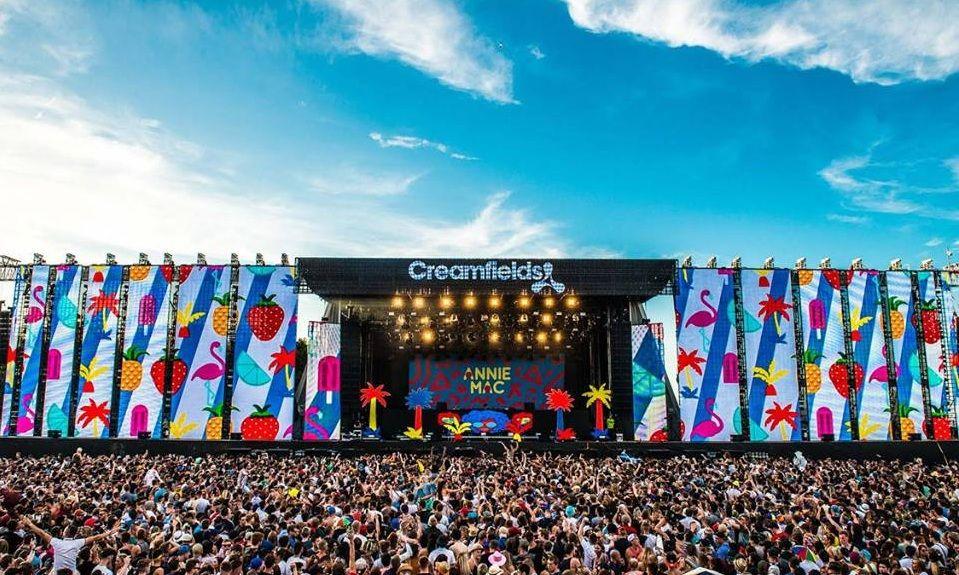 Creamfields Festival in England